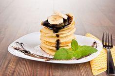 Pancakes – jabłkowy torcik