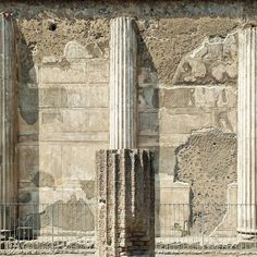"#engaged #column in #pompeii - ""in #treating of the #walling [...] a #row of #columns being indeed nothing else but a #wall #open and #discontinued in several #places . [...] It is a #certain #strong #continued #part of the #wall"" Leon Battista #Alberti 's #ten #books in #architecture [[[ #facade #project ]]] {{{ #italy #campania #archaeology }}}"