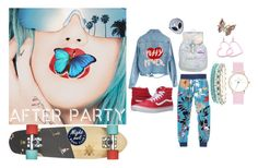 """Skater Chic"" by brandi-hughes on Polyvore featuring Rupaul, High Heels Suicide, adidas, Vans, Disturbia and Accessorize"