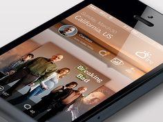 Photo sharing UI
