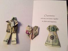 Origami money - wedding gift