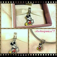.925 Ale Mickey Charm For Pandora Bracelets Beautiful. 925 Ale Mickey Charm For Pandora Bracelets. Great for any occasion or even as a gift for your favorite someone. All my items come in a beautifuly gift wrapped box and upon request will add a personalized card with whatever you want it to say free of charge.   WILL ACCEPT ALL REASONABLE OFFERS Pandora's Box  Jewelry Bracelets