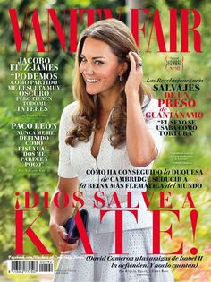 Duchess Newsfiles on Twitter:  Duchess of Cambridge on the cover of Vanity Fair Spain, April 2016