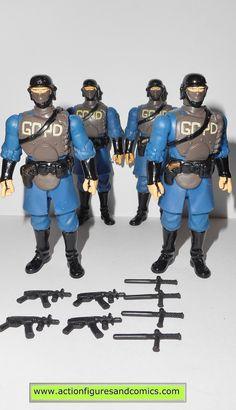 dc universe infinite heroes GOTHAM CITY SWAT POLICE MAN lot batman mattel toys action figures