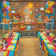 Dr Seuss Birthday Party, 1st Birthday Party Themes, Party Themes For Boys, Transportation Birthday, Baby Party, Childrens Party, First Birthdays, Bernardo, Shopkins