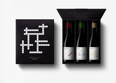Wine Labels with a puzzle by Finca de la Rica by Dorian