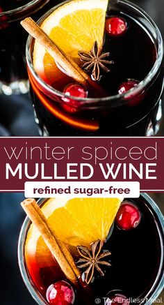 Christmas Cocktails, Holiday Drinks, Holiday Recipes, Christmas Sangria, Wassail Recipe, Mulled Wine Recipe Crockpot, Mulled Wine Recipe Brandy, Mulled Cider Recipe, Gourmet