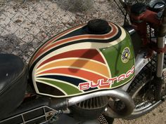 Bultaco - Love the Paint