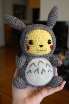 "Here is Pikachu requested by my 5 year old son, he just ""discovered"" Pokemon for himself Pattern is by me, it has some flaws, if you are interested I can try to fix them and post the pattern (every..."