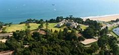 """The Huguette Clark Mansion in California known as """"Bellosguardo"""" in Santa Barbara that overlooks the ocean is worth more than $100 million and hasn't been visited in nearly 50 years."""