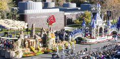Look Back at the Making of the Disneyland Resort Diamond Celebration Rose Parade Float