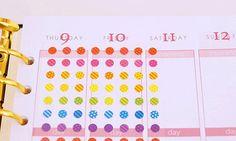 30%OFF! Tiny Dot sticker for Erin Condren Planner