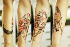 Nerdy tattoo that is both awesome and gorgeous.