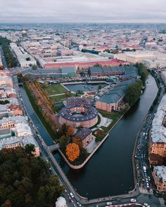 """""""New Holland"""", Saint-Peterburg, Russia City From Above, Wladimir Putin, Russian Architecture, Europe, Imperial Russia, Petersburg Russia, Brunei, Aerial View, Beautiful Places"""
