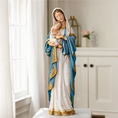 Blessed Mother Mary, Blessed Virgin Mary, Catholic Art, Religious Art, Catholic Religion, Catholic Company, Mama Mary, Mary And Jesus, Holy Mary