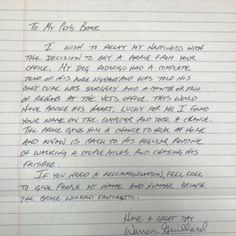 We received this kind letter from Rodrigo's family! We're so happy for Rodrigo. Live Happy, Happy Life, Acl Brace, Pittsburgh, Your Pet, Lettering, The Happy Life, Calligraphy, Letters