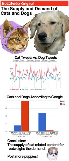 Supply And Demand Of Internet Dogs And Cats