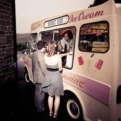 antique icecream van