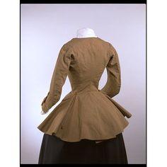 Riding coat (image 2) | England | 1750-1759 | wool, silk, linen | Victoria & Albert  Royal Museum | Museum #: T.197-1984