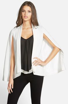 Free shipping and returns on Mural Cape Blazer at Nordstrom.com. A fluttery, feminine take on the staple blazer is spliced at the sleeves for a cape-like finish.