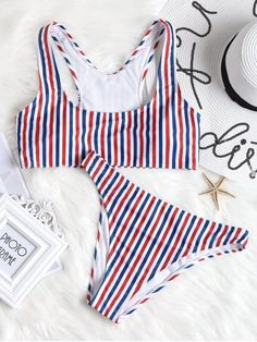 Up to 80% OFF! Colorful Striped High Cut Bikini Set. #Zaful #Swimwear #Bikinis zaful,zaful outfits,zaful dresses,spring outfits,summer dresses,easter,super bowl,st patrick's day,cute,casual,fashion,style,bathing suit,swimsuits,one pieces,swimwear,bikini set,bikini,one piece swimwear,beach outfit,swimwear cover ups,high waisted swimsuit,tankini,high cut one piece swimsuit,high waisted swimsuit,swimwear modest,swimsuit modest,cover ups @zaful Extra 10% OFF Code:ZF2017