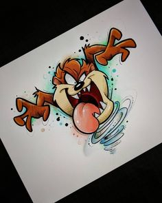 Dibujos en 2019 graffiti drawing, cartoon drawings y art drawings. Art Drawings Sketches, Cartoon Drawings, Cartoon Art, Cartoons To Draw, Looney Tunes Cartoons, Cute Disney Drawings, Cute Drawings, Drawing Disney, Crazy Drawings