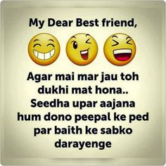 Felling sad but friends forever😅 - my dear best friend , دله Best Friend Quotes Funny, Funny Attitude Quotes, Besties Quotes, Cute Funny Quotes, Funny Thoughts, Funny School Jokes, Some Funny Jokes, Funny Bf, Jokes Quotes