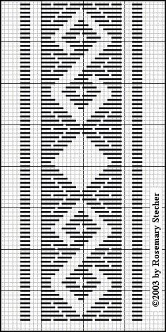 Chart for pattern darning Hardanger Embroidery, Hand Embroidery Stitches, Embroidery Techniques, Cross Stitch Embroidery, Embroidery Patterns, Cross Stitch Patterns, Bargello Needlepoint, Needlepoint Stitches, Plastic Canvas Stitches