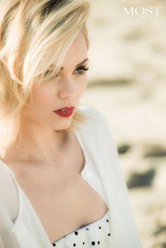 Laura Vandervoort Actress   Photo Credit: Glenn Nutley #mostmag #lauravandervoort http://www.mostmagpub.com/