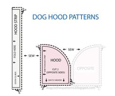 Free Dog Clothes Patterns: Dog Hoodie patterns