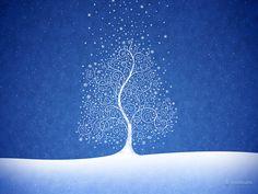 Where Snowflakes Are Born · Desktop wallpapers · Vladstudio