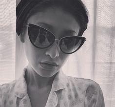 Japanese model Yu Yamada in the Heartbreaker #DITAgirl #DITAeyewear