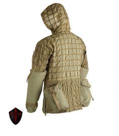 #sodgear #snipersistem Spectre Sniper System Parka HCS rear view #cordura #militarygear #outdoor #airsoft #repin www.sodgear.com
