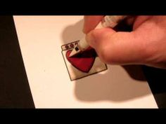 Video for Simon Says Stamp by Sandy Allnock on Coloring on her Love Machine Cards. January 2014