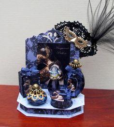Masquerade Perfume Display