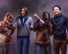Lauren Cohan et Steven Yeun – Walker Stalker [Photo du jour]