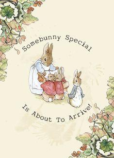 Peter Rabbit - Printable Baby Shower Invitations (Digital File). $15.00, via Ets...