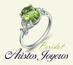 Diseña, crea y fabrica este mes 12% de descuento con esta hermosa piedra Peridot... www.aristos-joyeros.com