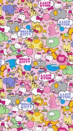 Hello Kitty Backgrounds, Hello Kitty Wallpaper, Hello Kitty Images, Cat Party, Sanrio Characters, Sanrio Hello Kitty, Kawaii, Colours, Cartoon
