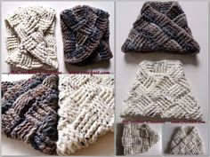 "Crochet for Men! Infinity cowl  At the link click through ""Patterns"" to ""Patterns Shop"""