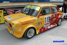 147 Fiat, Fiat 850, Fiat Abarth, Seat 127, Fiat Cars, Mazda, Cars And Motorcycles, Grand Prix, Race Cars