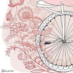 fabulous doodle illustration by dinara