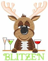 Drunk Reindeer.....reminds me of a few people I know! LOL!