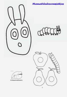 Best Very Hungry Caterpillar Coloring Pages