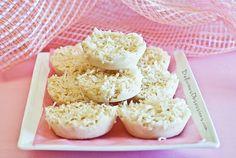 Maple Coconut Bars With Coconut Oil Recipe // deliciousobsessions.com #coconutoil #glutenfree #dairyfree