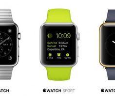Apple inicia a pré-vendas online do Apple Watch.