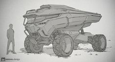 Vehicle sketching | Mike Hill Design