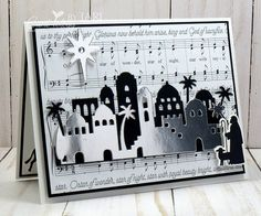 Stampin'Up! Night in Bethlehem-Cardiology by Jari