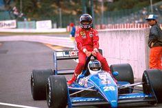 Gerhard Berger & Stefan Johansson | Ligier JS31 | 1988 Japanese Grand Prix