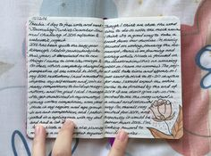Into the Woods #journals #handwriting #writing